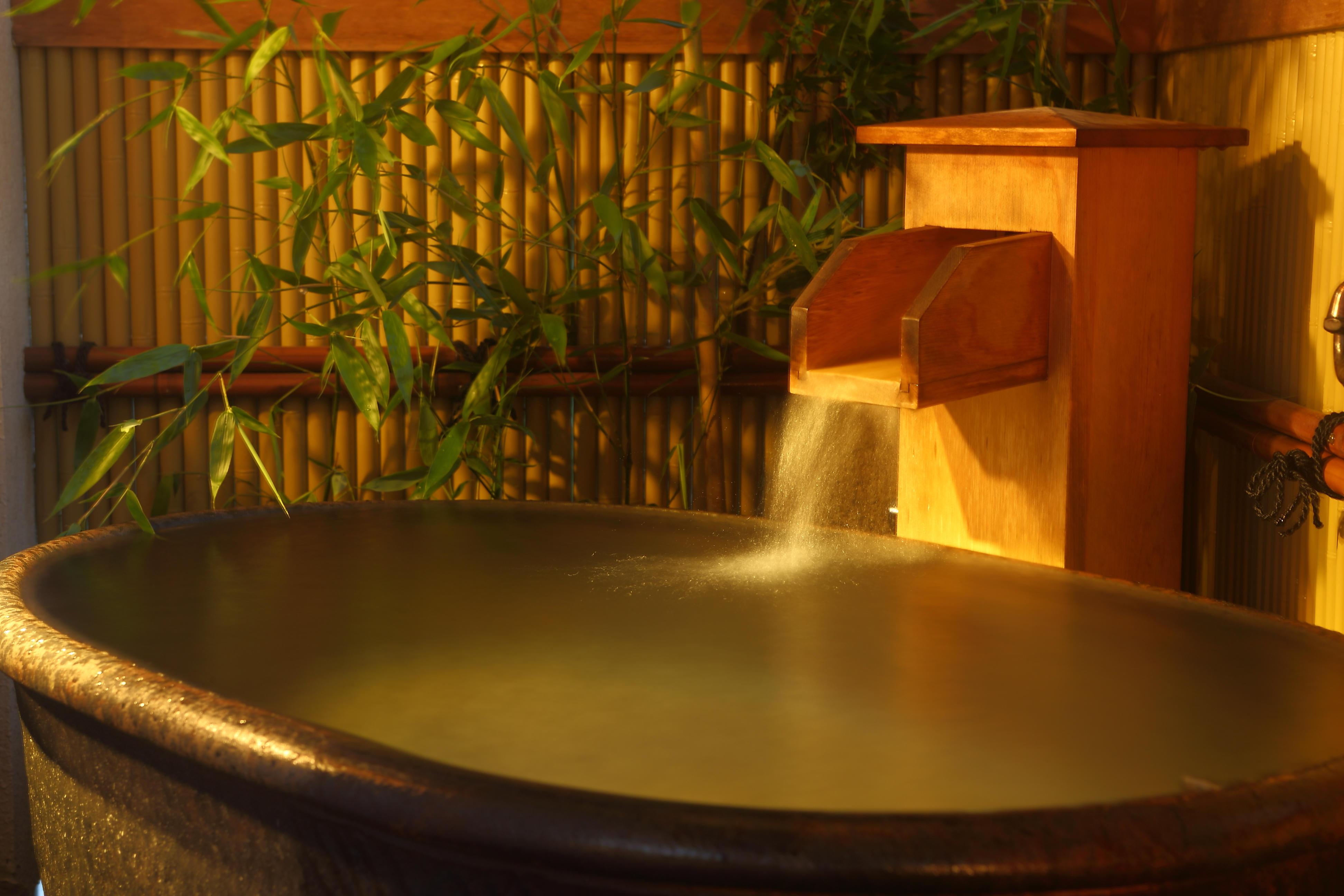 【弐番館】温泉露天風呂付きの和室