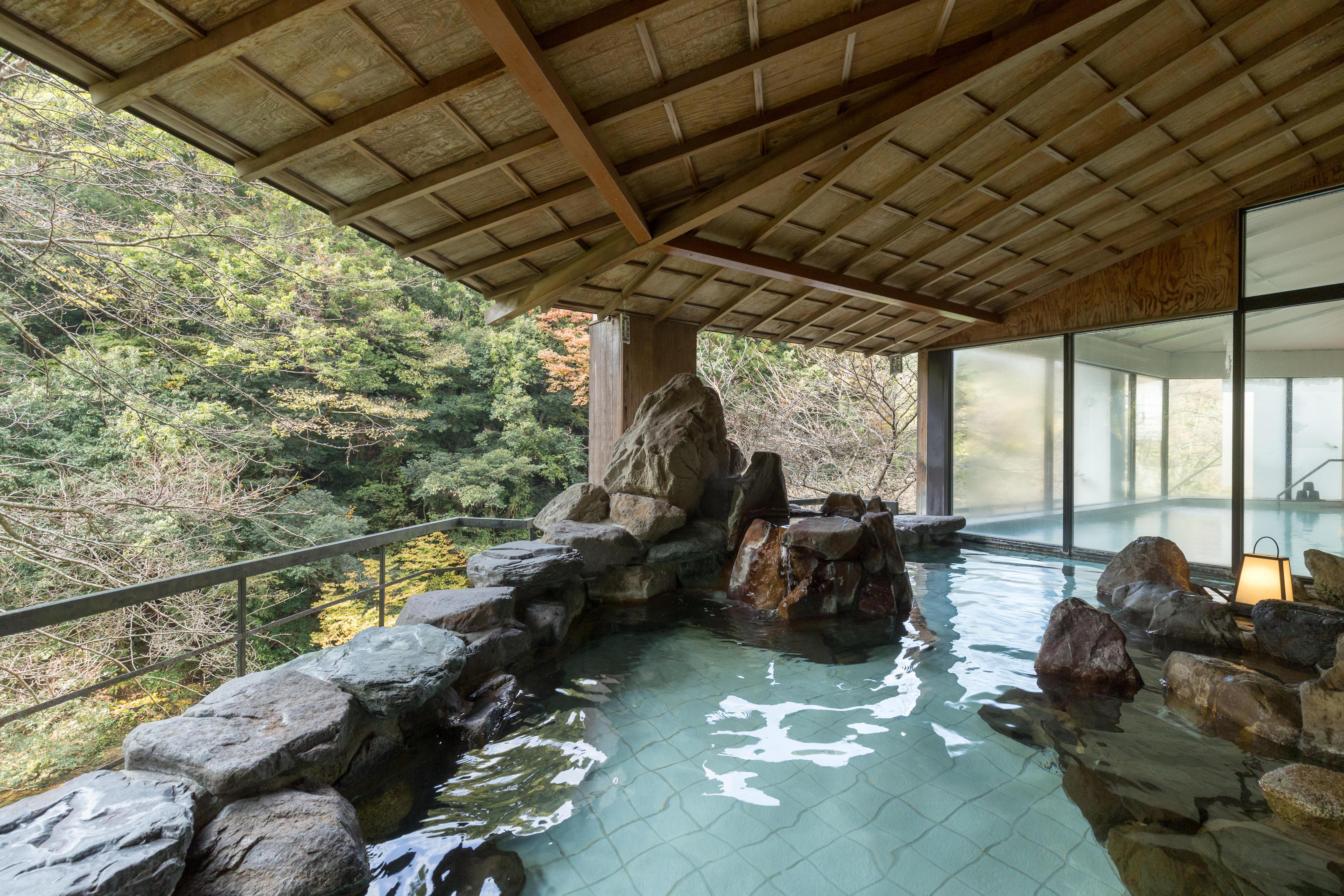 大浴場・露天風呂からの景観