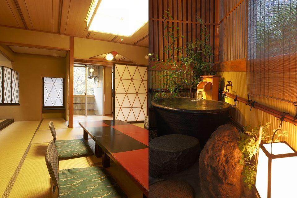 【弐番館】 露天風呂付き和室